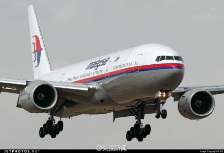 马来西亚航空称一架由吉隆坡飞往北京的航班失去联系,该飞机上载有239